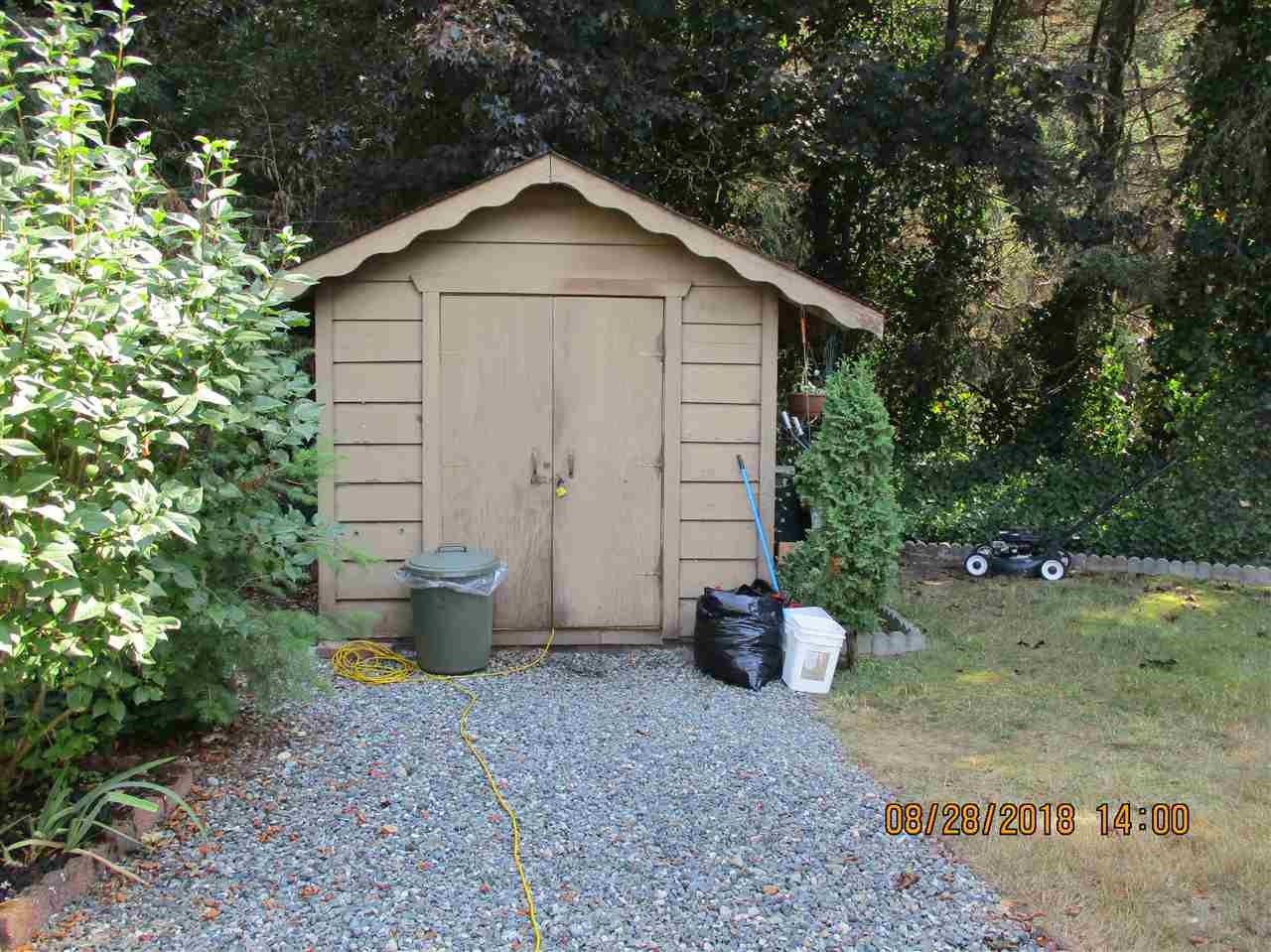 """Photo 18: Photos: 57 2305 200 Street in Langley: Brookswood Langley Manufactured Home for sale in """"CEDAR LANE"""" : MLS®# R2357125"""