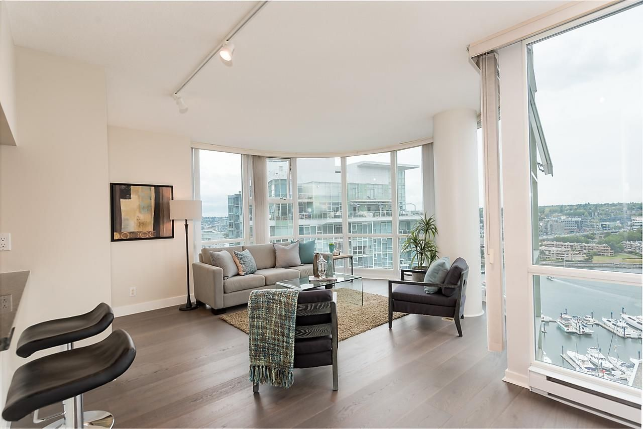 "Photo 3: Photos: 2508 193 AQUARIUS Mews in Vancouver: Yaletown Condo for sale in ""MARINASIDE RESORT RESIDENCES"" (Vancouver West)  : MLS®# R2106066"