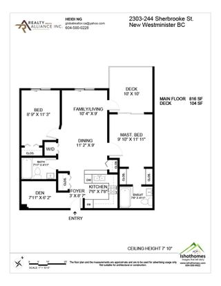 """Photo 20: 2303 244 SHERBROOKE Street in New Westminster: Sapperton Condo for sale in """"copperstone"""" : MLS®# R2561846"""