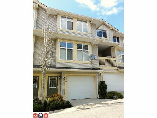 """Main Photo: 40 14959 58TH Avenue in Surrey: Sullivan Station Townhouse for sale in """"SKYLANDS"""" : MLS®# F1109689"""