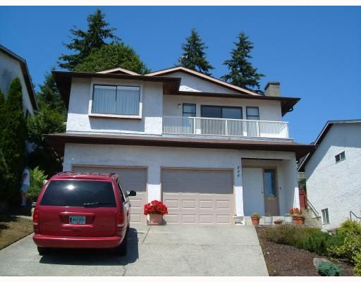 Main Photo: 226 WARRICK Street in Coquitlam: Cape Horn House for sale : MLS®# V777435