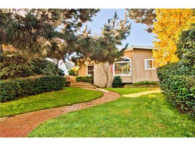 Main Photo: POINT LOMA House for sale : 3 bedrooms : 3635 Jennings in San Diego