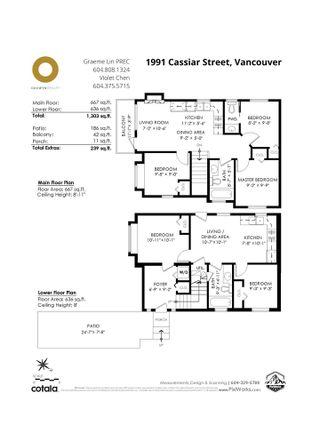 Photo 34: 1991 CASSIAR Street in Vancouver: Renfrew VE 1/2 Duplex for sale (Vancouver East)  : MLS®# R2525566
