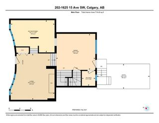 Photo 16: 202 1625 15 Avenue SW in Calgary: Sunalta Row/Townhouse for sale : MLS®# A1066007