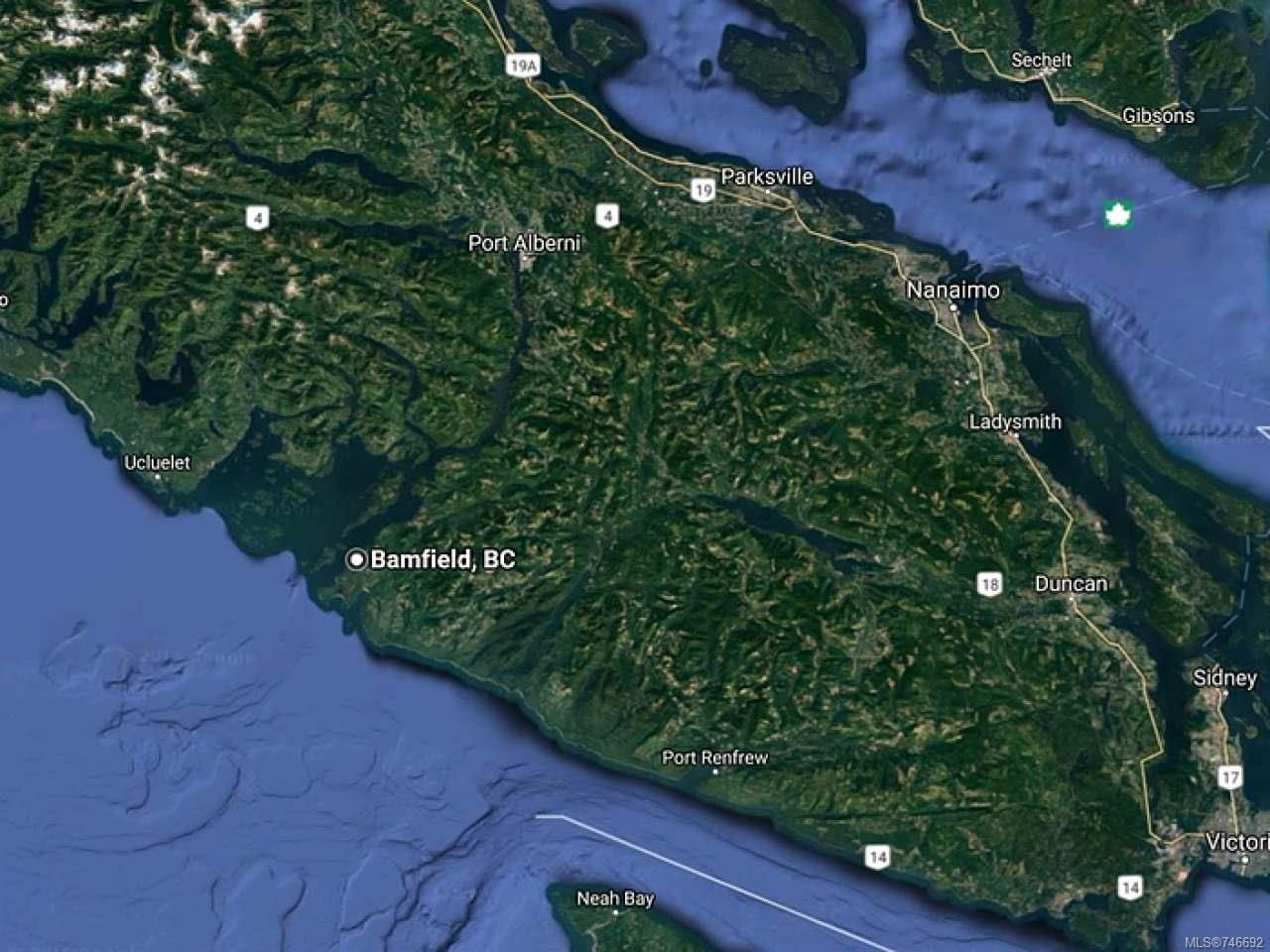 Main Photo: LT 9 S Bamfield Rd in BAMFIELD: PA Bamfield Land for sale (Port Alberni)  : MLS®# 746692