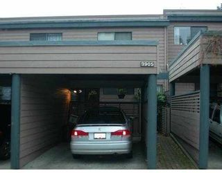 """Photo 6: 3905 PARKWAY Drive in Vancouver: Quilchena Townhouse for sale in """"ARBUTUS VILLAGE"""" (Vancouver West)  : MLS®# V615549"""
