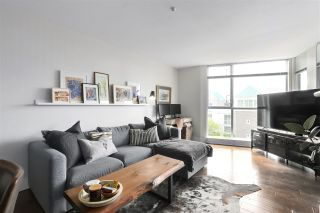"""Photo 1: 210 8430 JELLICOE Street in Vancouver: South Marine Condo for sale in """"BOARDWALK"""" (Vancouver East)  : MLS®# R2453487"""
