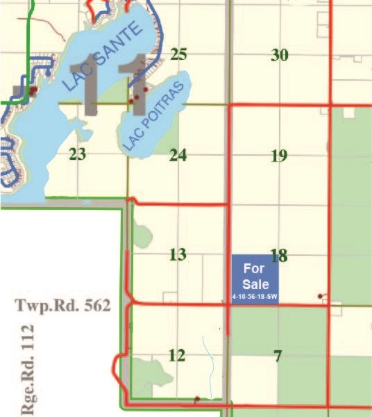 Main Photo: 160 Acres SW-18-56-10-W4th: Rural St. Paul County Rural Land/Vacant Lot for sale : MLS®# E4236448