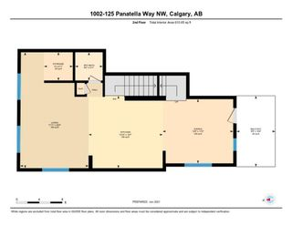 Photo 7: 1002 125 PANATELLA Way NW in Calgary: Panorama Hills Row/Townhouse for sale : MLS®# A1120145