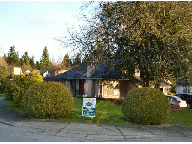 Main Photo: 892 161A Street in SURREY: King George Corridor House for sale (South Surrey White Rock)  : MLS®# F1300972