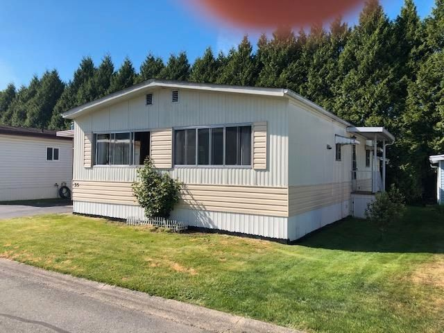 Main Photo: 35 13507 81 Avenue in Surrey: Queen Mary Park Surrey Manufactured Home for sale : MLS®# R2581343
