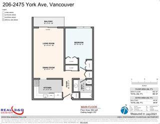 Photo 18: 206 2475 YORK AVENUE in Vancouver: Kitsilano Condo for sale (Vancouver West)  : MLS®# R2606001