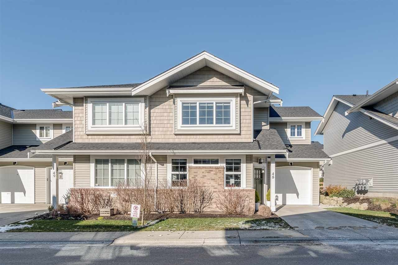 Main Photo: 48 12161 237 Street in Maple Ridge: East Central Townhouse for sale : MLS®# R2339684