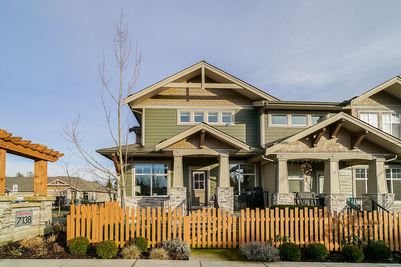 """Main Photo: 1 7138 210 Street in Langley: Willoughby Heights Townhouse for sale in """"PRESTWICK"""" : MLS®# R2535299"""