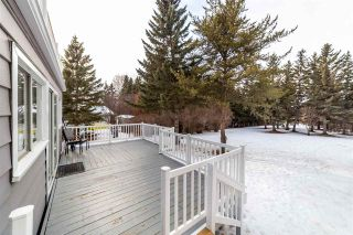 Photo 42: 12 Equestrian Place: Rural Sturgeon County House for sale : MLS®# E4229821