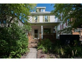 Photo 1: 139 Arlington Street in WINNIPEG: West End / Wolseley Residential for sale (West Winnipeg)  : MLS®# 1418074