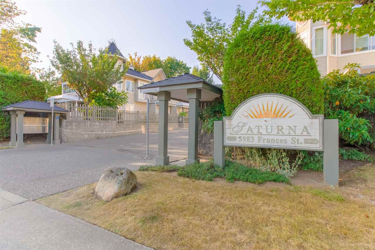 """Main Photo: 11 5983 FRANCES Street in Burnaby: Capitol Hill BN Townhouse for sale in """"SATURNA"""" (Burnaby North)  : MLS®# R2396378"""