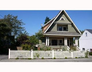 Main Photo: 301 PRINCESS ST in New Westminster: House for sale (Canada)  : MLS®# V761517