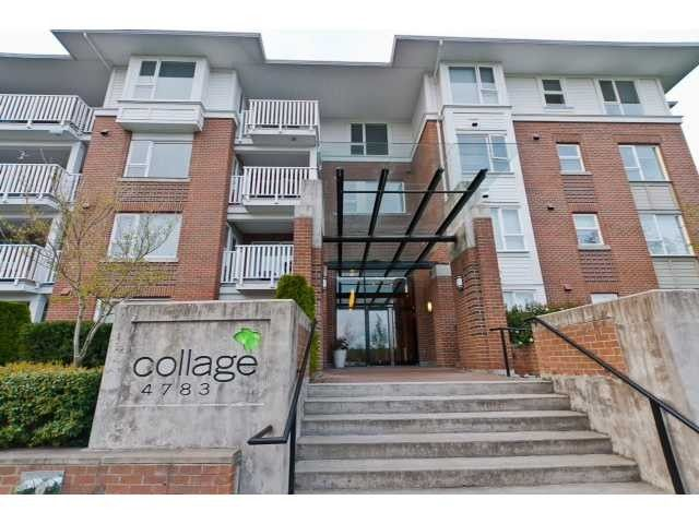 """Main Photo: 413 4783 DAWSON Street in Burnaby: Brentwood Park Condo for sale in """"COLLAGE"""" (Burnaby North)  : MLS®# V1009694"""