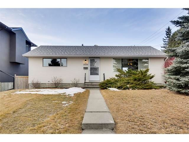 Main Photo: 3039 CANMORE Road NW in Calgary: Banff Trail House for sale