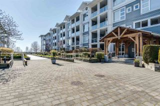 """Photo 1: 112 4500 WESTWATER Drive in Richmond: Steveston South Condo for sale in """"COPPER SKY WEST"""" : MLS®# R2443316"""