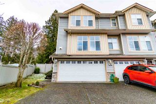 """Photo 1: 28 46906 RUSSELL Road in Chilliwack: Promontory Townhouse for sale in """"Russell Heights"""" (Sardis)  : MLS®# R2542440"""