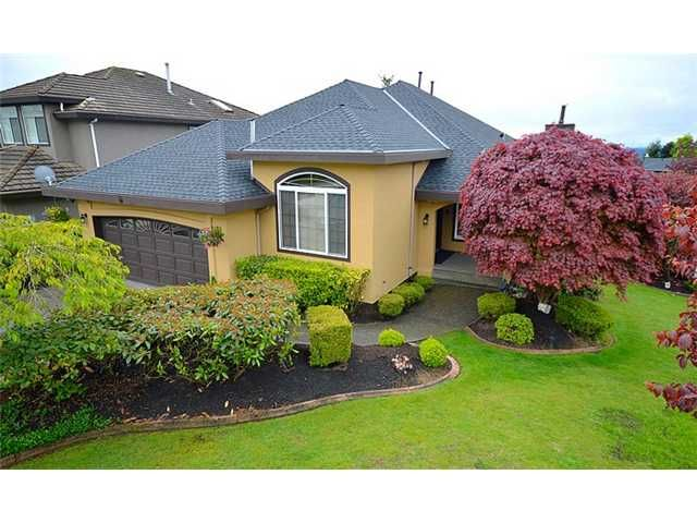 """Main Photo: 2620 MARBLE Court in Coquitlam: Westwood Plateau House for sale in """"WESTWOOD PLATEAU"""" : MLS®# V1121055"""