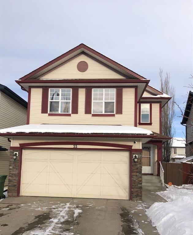 Main Photo: 55 Brightondale Bay SE in Calgary: New Brighton Detached for sale : MLS®# A1083663