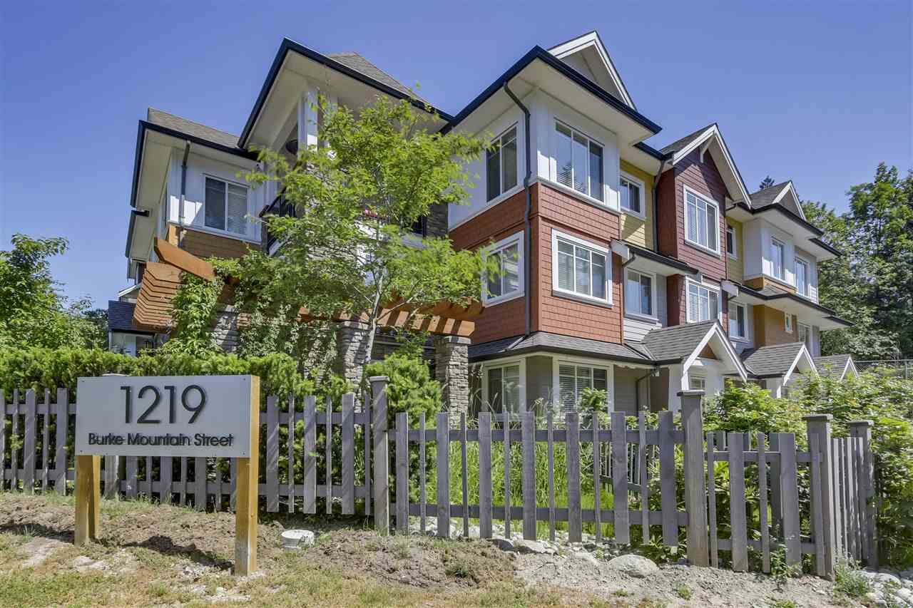 """Main Photo: 18 1219 BURKE MOUNTAIN Street in Coquitlam: Burke Mountain Townhouse for sale in """"REEF"""" : MLS®# R2292152"""