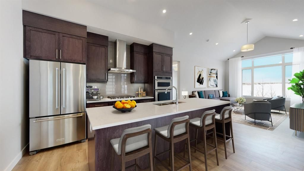 Photo 4: Photos: 38 Crestridge Bay SW in Calgary: Crestmont Row/Townhouse for sale : MLS®# A1073636