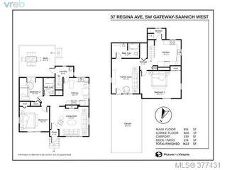 Photo 20: 37 Regina Ave in VICTORIA: SW Gateway House for sale (Saanich West)  : MLS®# 757815
