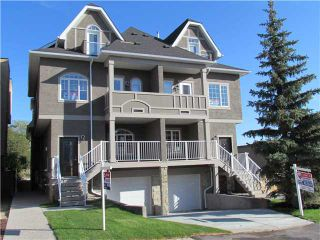 Photo 1: 1 2020 27 Avenue SW in Calgary: South Calgary Townhouse for sale : MLS®# C3493042