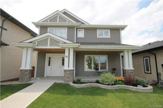 Photo 1: 95 Bellflower Road in Winnipeg: Bridgwater Lakes Residential for sale (1R)  : MLS®# 1717830