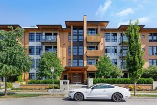 """Photo 1: 212 220 SALTER Street in New Westminster: Queensborough Condo for sale in """"GLASSHOUSE"""" : MLS®# R2294293"""