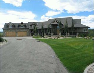 Photo 1:  in CALGARY: Rural Foothills M.D. Residential Detached Single Family for sale : MLS®# C3142135