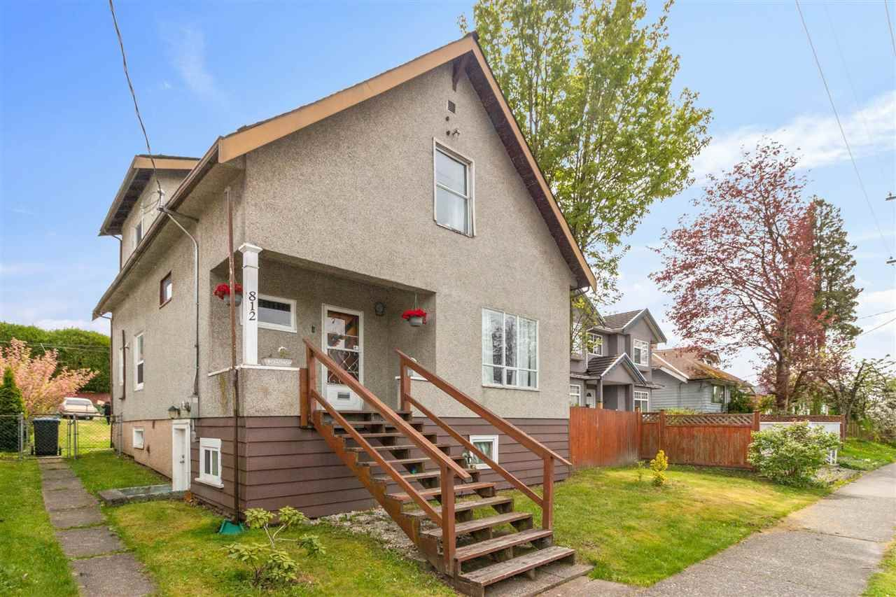 Main Photo: 812 TENTH Avenue in New Westminster: Moody Park House for sale : MLS®# R2575415