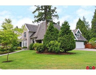 """Photo 1: 1693 137TH Street in Surrey: Sunnyside Park Surrey House for sale in """"BELL PARK"""" (South Surrey White Rock)  : MLS®# F2915357"""