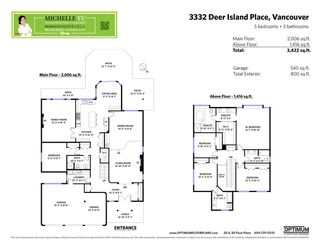 Photo 20: 3332 DEERING ISLAND Place in Vancouver: Southlands House for sale (Vancouver West)  : MLS®# R2375953