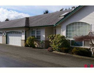 """Photo 1: 45160 SOUTH SUMAS Road in Sardis: Sardis West Vedder Rd Townhouse for sale in """"COTTAGE LANE"""" : MLS®# H2700769"""
