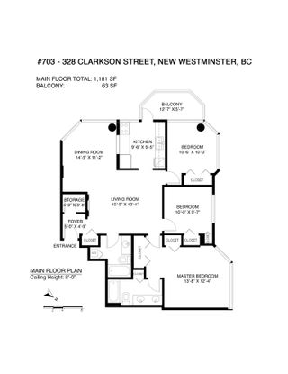 """Photo 31: 703 328 CLARKSON Street in New Westminster: Downtown NW Condo for sale in """"Highbourne Tower"""" : MLS®# R2585007"""