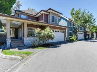 """Photo 1: 46 3363 ROSEMARY HEIGHTS Crescent in Surrey: Morgan Creek Townhouse for sale in """"ROCKWELL"""" (South Surrey White Rock)  : MLS®# R2289421"""
