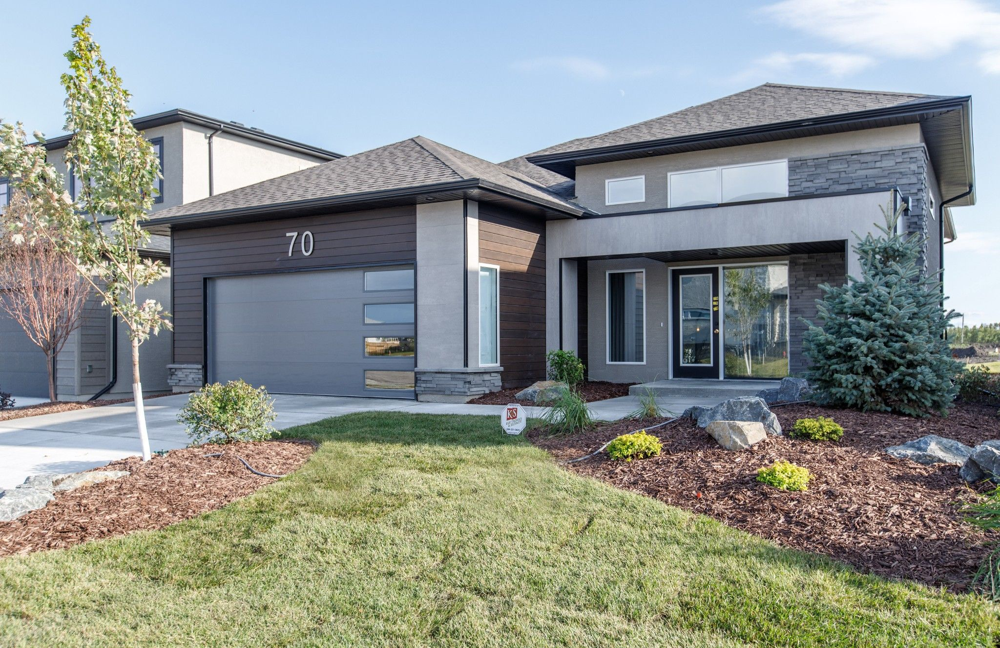 Main Photo: 70 Tanager Trail in Winnipeg: Sage Creek Single Family Detached for sale (2K)