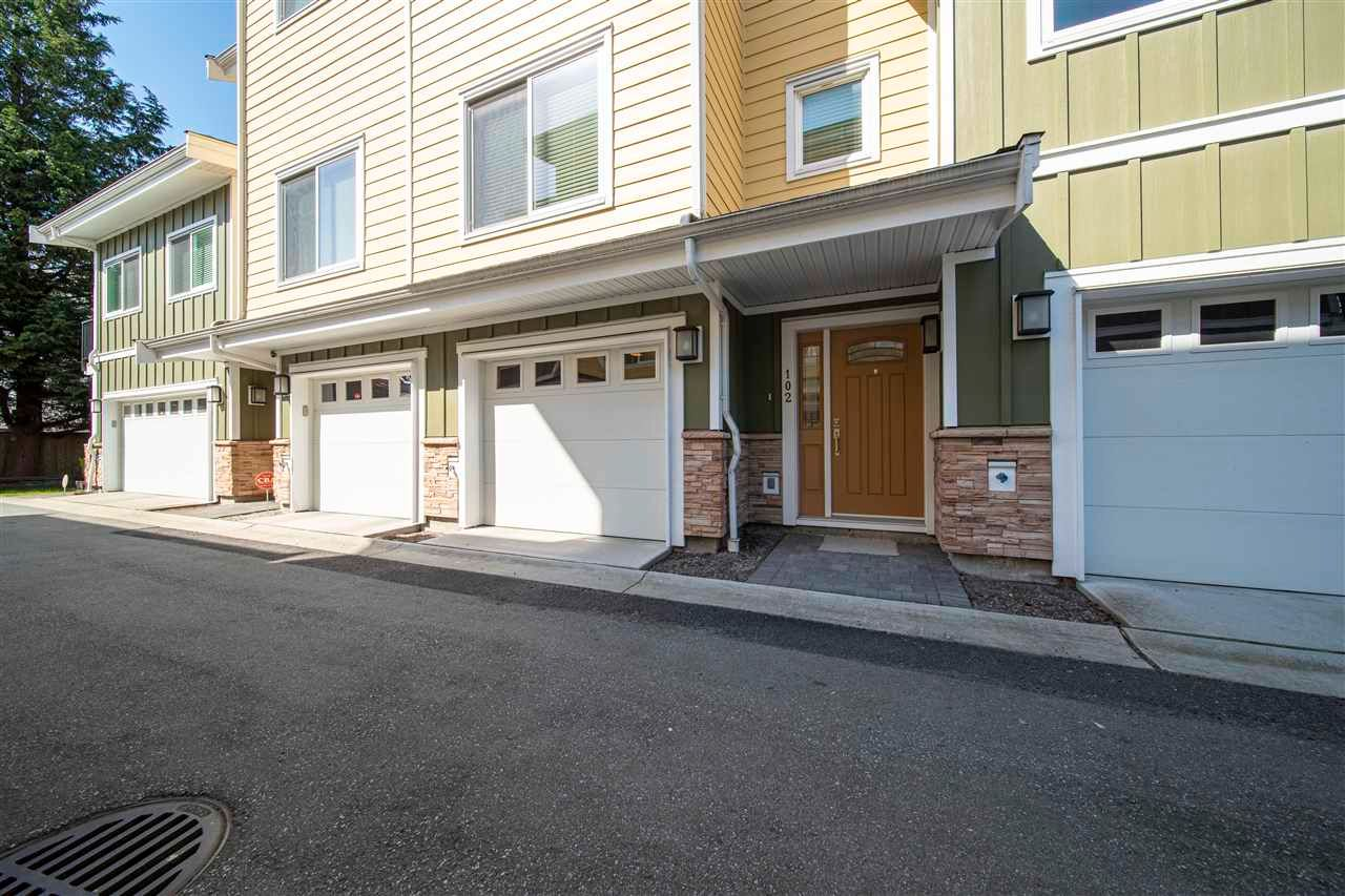 Main Photo: 102 8080 BLUNDELL Road in Richmond: Garden City Townhouse for sale : MLS®# R2570880