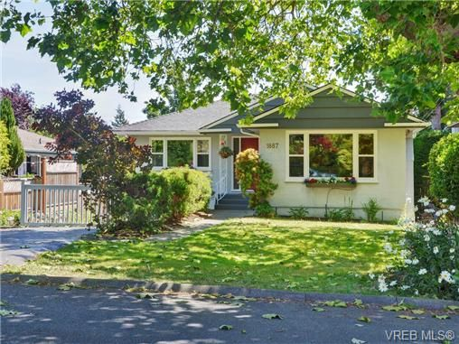 Main Photo: 1887 Forrester St in VICTORIA: SE Camosun House for sale (Saanich East)  : MLS®# 735465