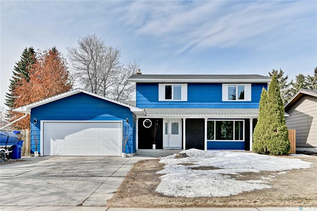 Main Photo: 77 Champlin Crescent in Saskatoon: East College Park Residential for sale : MLS®# SK847001