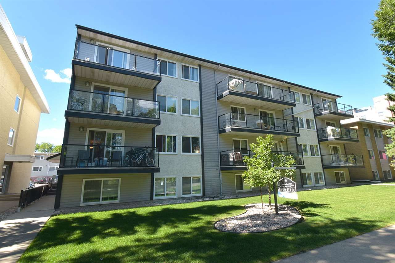 Main Photo: 204 10326 117 Street in Edmonton: Zone 12 Condo for sale : MLS®# E4241909
