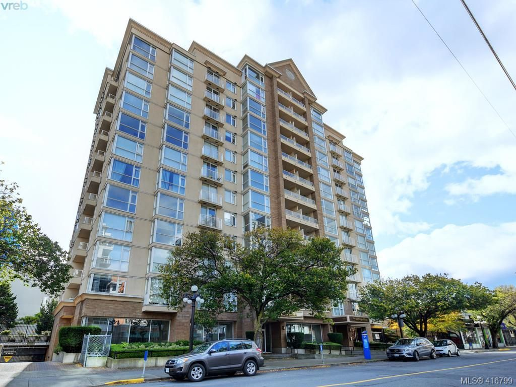 Main Photo: 801 835 View St in VICTORIA: Vi Downtown Condo for sale (Victoria)  : MLS®# 826828