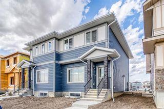 Photo 1: 48 Cornerbrook View NE in Calgary: Cornerstone Semi Detached for sale : MLS®# A1150662