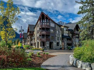 Photo 1: 210 379 Spring Creek Drive: Canmore Apartment for sale : MLS®# A1103834