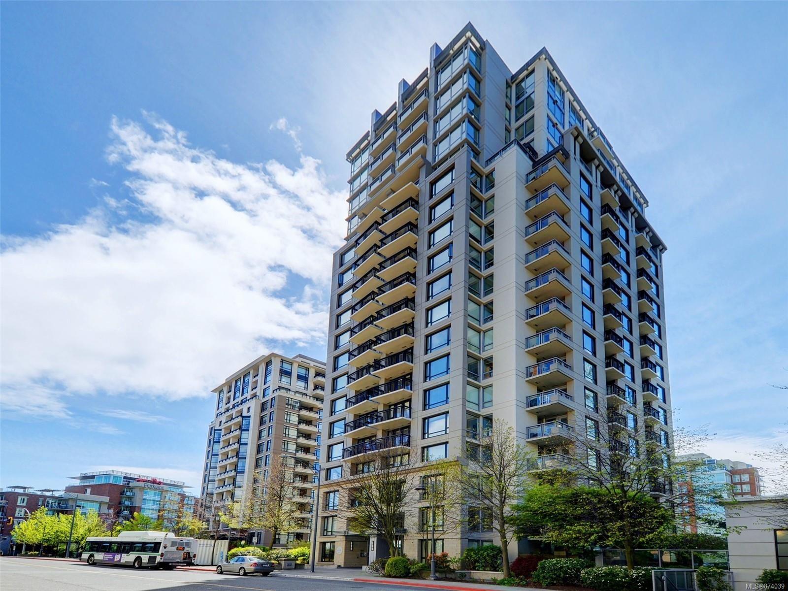 Main Photo: 1601 751 Fairfield Rd in : Vi Downtown Condo for sale (Victoria)  : MLS®# 874039